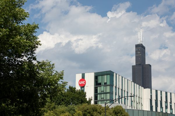 UIC and Willis Tower